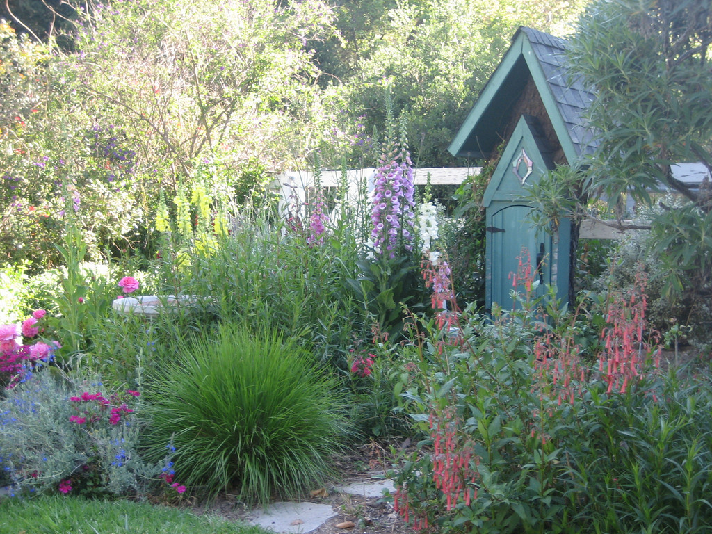 cottage garden landscape design photos, Natural flower