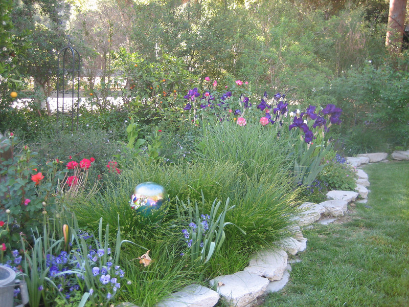 Orange County Cottage Garden Landscape Design ...