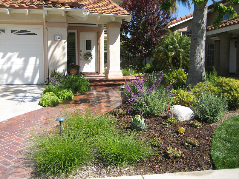 Front Garden Cottage Curb Appeal