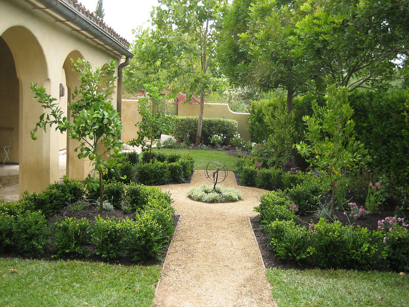Home garden designs free landscaping plans designs for Mediterranean garden design