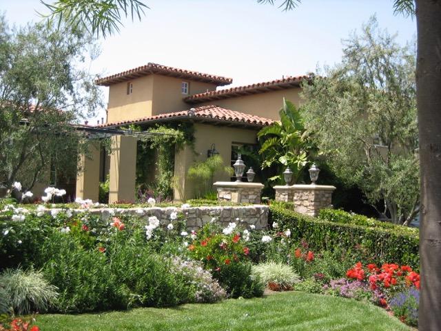 Native Mediterranean Landscape Design Photos