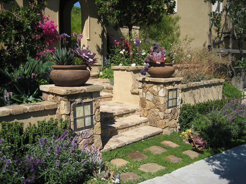 Native mediterranean landscape design photos for Home garden landscape designs